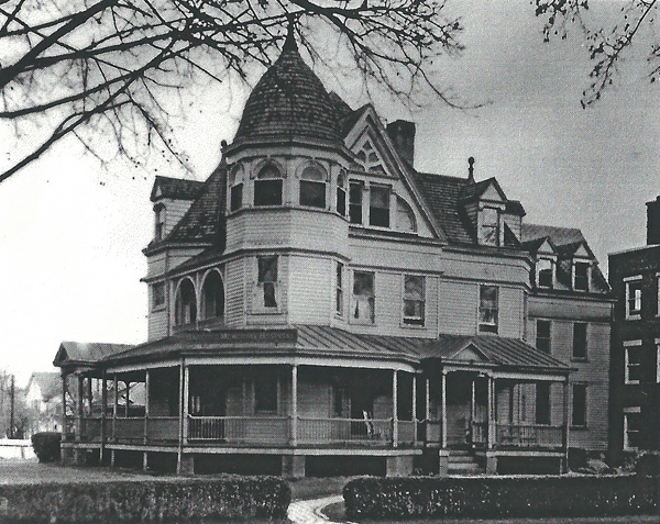 George A. Baker home