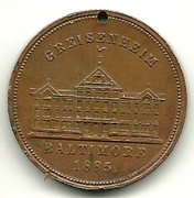 Greisenheim Home for the Aged; commemorative coin
