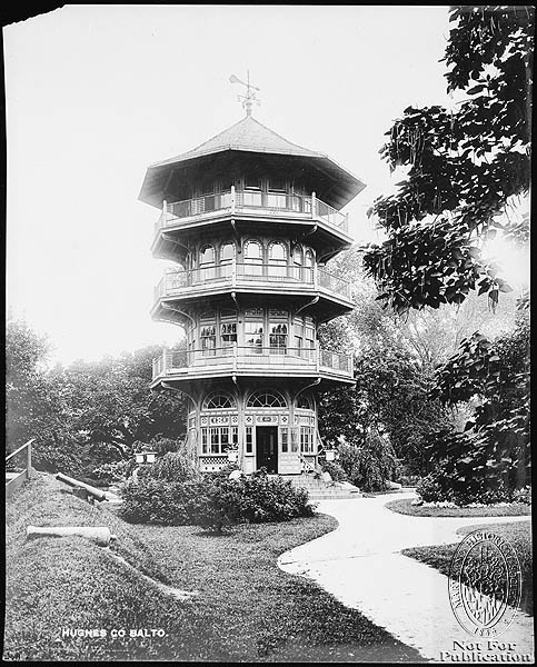 Patterson Park pagoda
